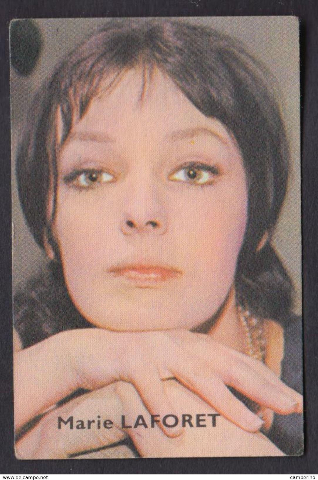Marie Laforet Chromos Image Chocolat Victoria Vedette