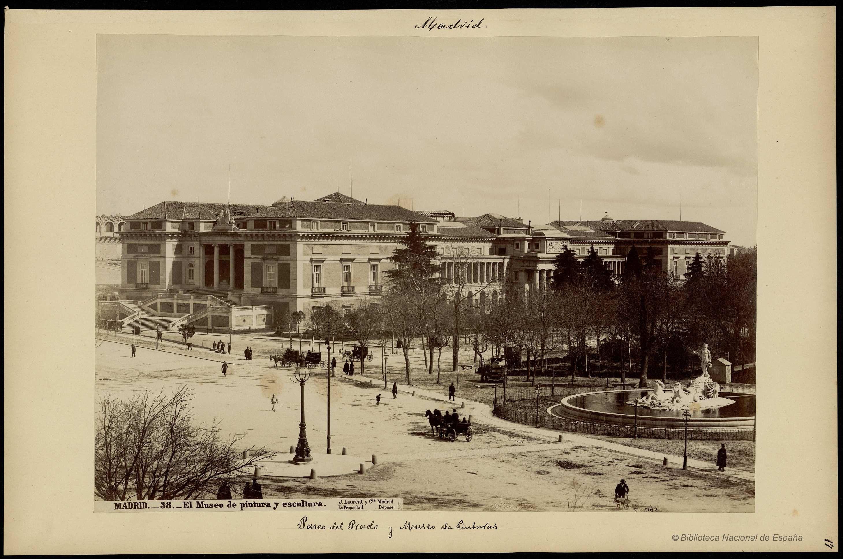 Madrid.. Laurent, J. 1816-1886 — Fotografía — 1870?