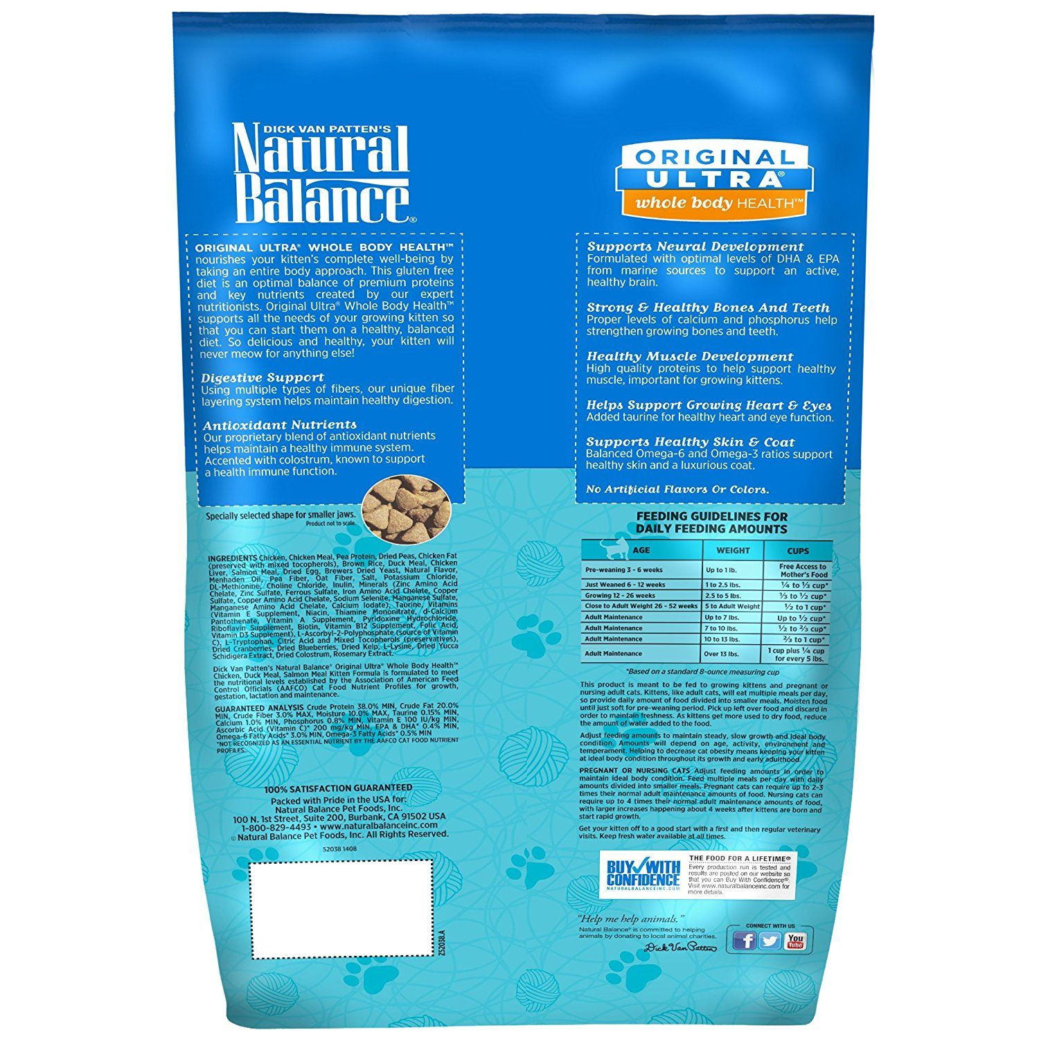Natural Balance Whole Body Health Dry Kitten Formula Want Additional Info Click On The Image This Is An Affiliate Link Kitten Food Dry Cat Food Cat Food