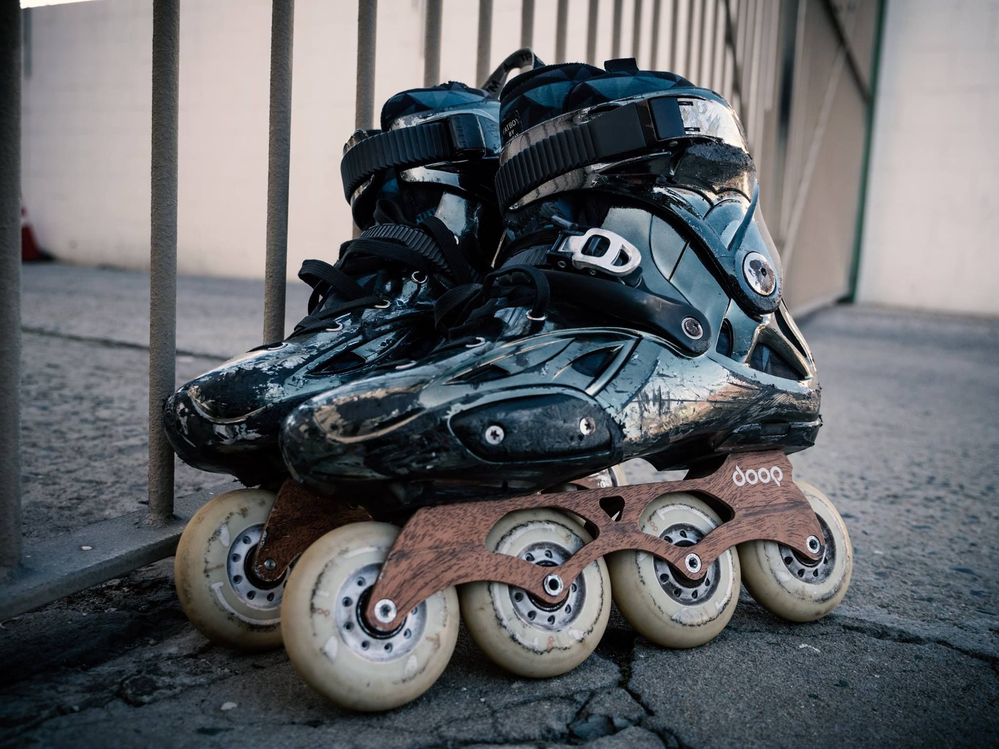 Zumiez roller skates - The Esthetics Of Used Skates Is An Art Genre Of Its Own Here We Have