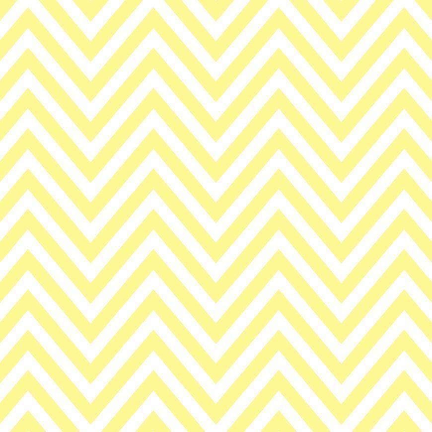 Pattern Pieces Chevron Butter Yellow Sprik Space