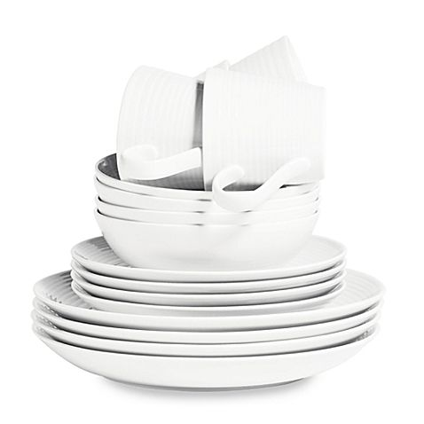 Gordon Ramsay by Royal Doulton® Maze 16-Piece Dinnerware Set in ...