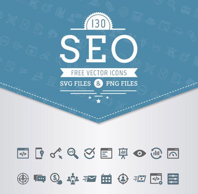SEO・オンラインマーケティング表現に活用できるアイコンセット「Free SEO Vector Icons」                                                                                                                                                                                 もっと見る