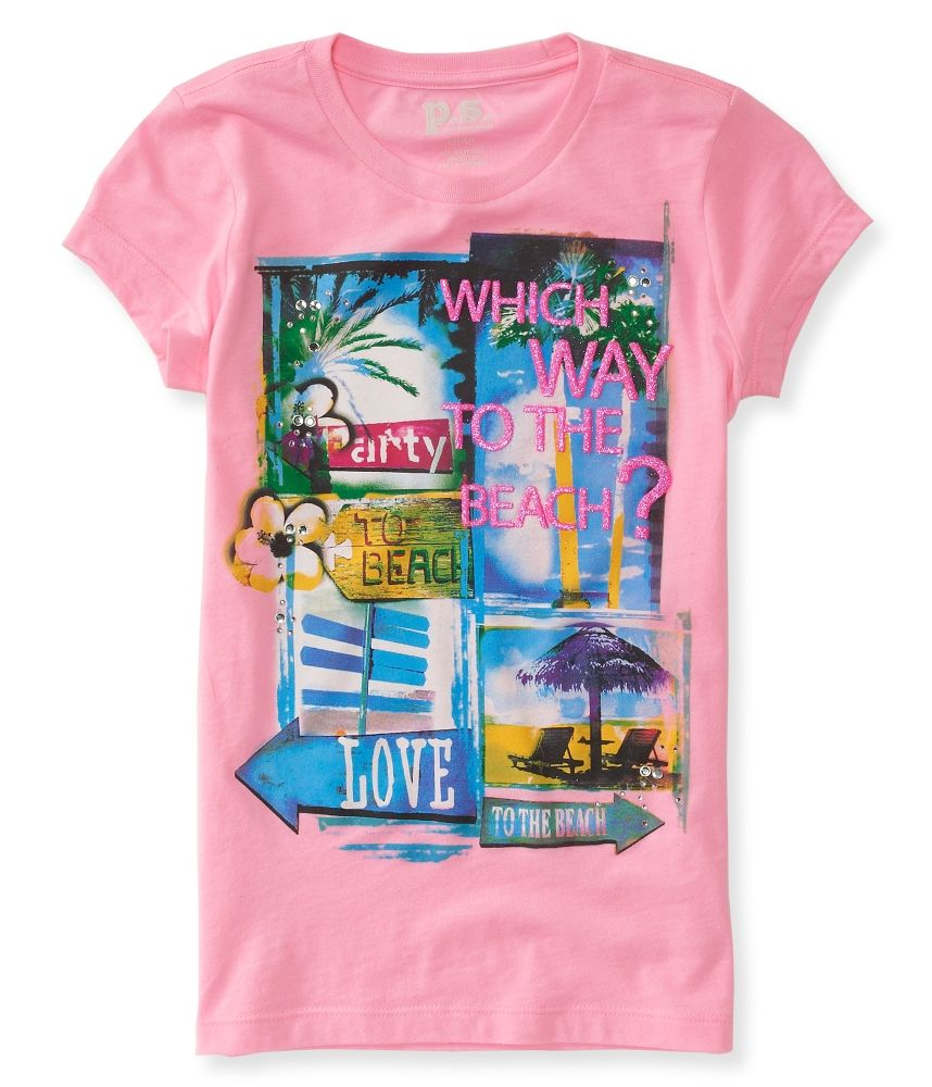 Kids Which Way To The Beach Graphic T Ps From Aeropostale