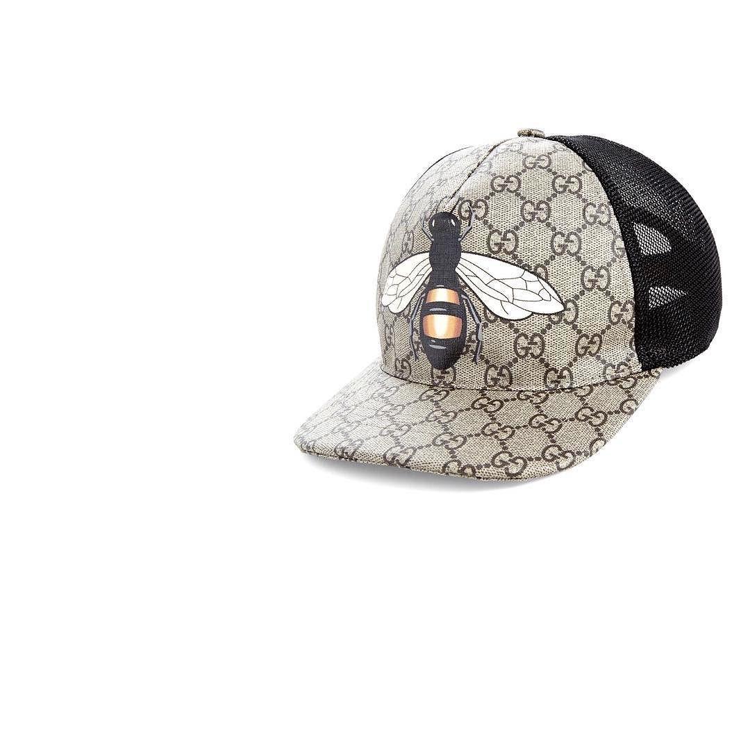 2624bc318bd Insects Print GG Supreme Baseball Hat