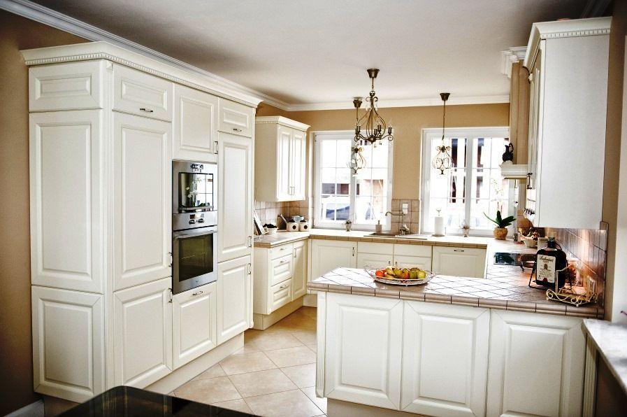 zabudowa, lampy, okna  Kuchnia  Jadalnia  Pinterest -> Kuchnie Angielskie Bialystok