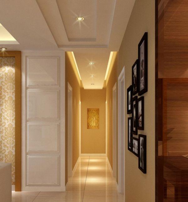 1001 Ideen Für Wandgestaltung Flur   Helle Töne Vergrößern Optisch Den Flur