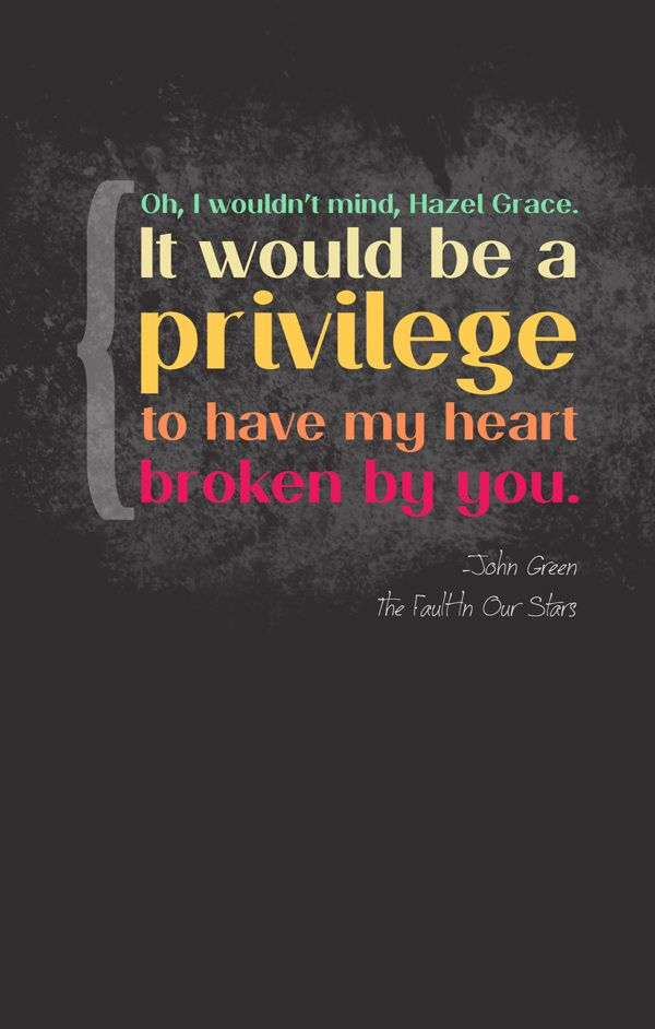 fault in our stars posters | The fault in our stars quotes ...