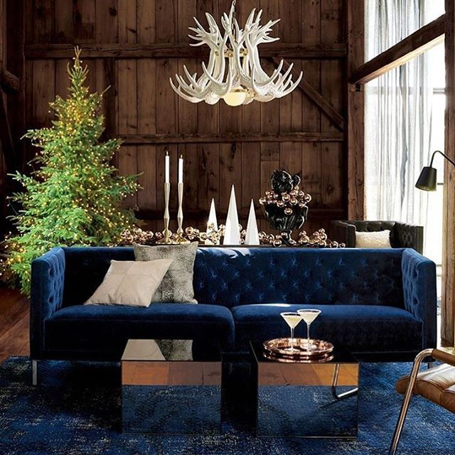 Wanna show us your holiday style? Tag us with #aptdeco & we'll share it with our community! : @cb2 #christmastree #christmas #livingroom #homedecor #furniture #usefurniture #homegoals #homedesign #interiordesign #instahome #instadecor #instadecor #nyc #washingtondc #holidays