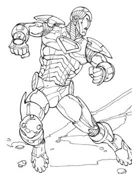 Database Error Coloring Pages Marvel Coloring Coloring Books