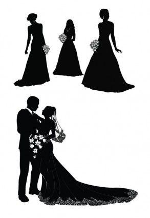 bride and groom vector w e d d i n g i n v i t a t i o n s rh pinterest com bride and groom vector png bride and groom vector illustration