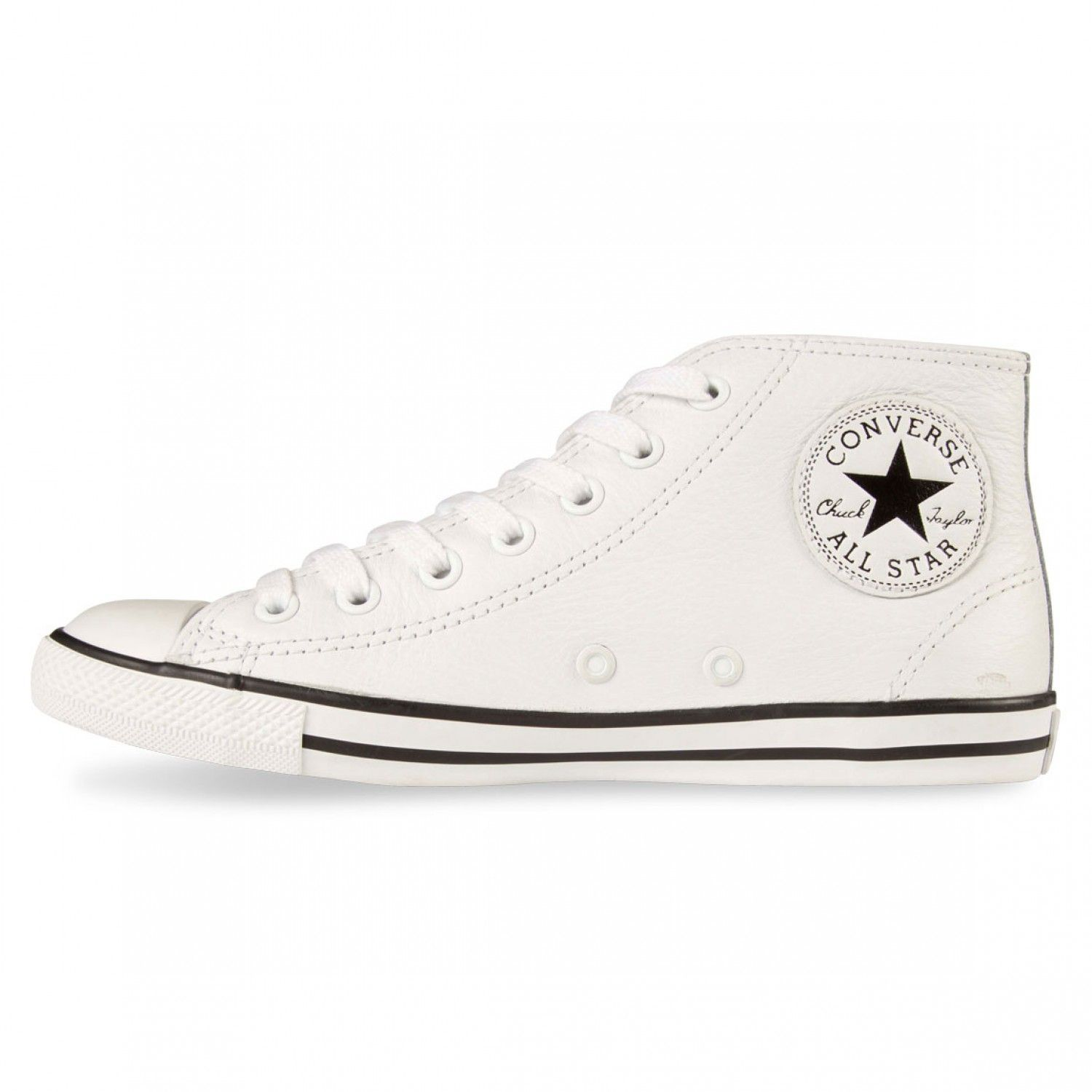 Converse All Mid Converse Star LeatherKicks Dainty bY7gvIyf6