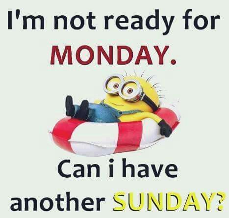 Another Sunday please