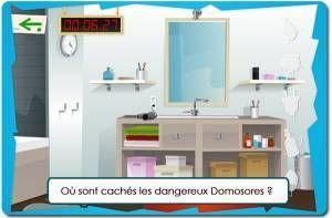 Grand Jeu Des Domosores Pour Prevenir Les Dangers à La Maison