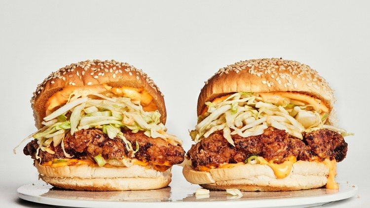 The Basically Fried Chicken Sandwich Recipe Fried Chicken Sandwich Chicken Sandwich Chicken Sandwich Recipes