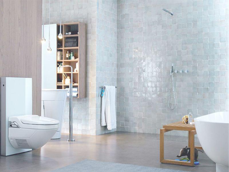 Zelliges Salle De Bain Avec Images Deco Salle De Bain Decoration Toilettes Toilette Design