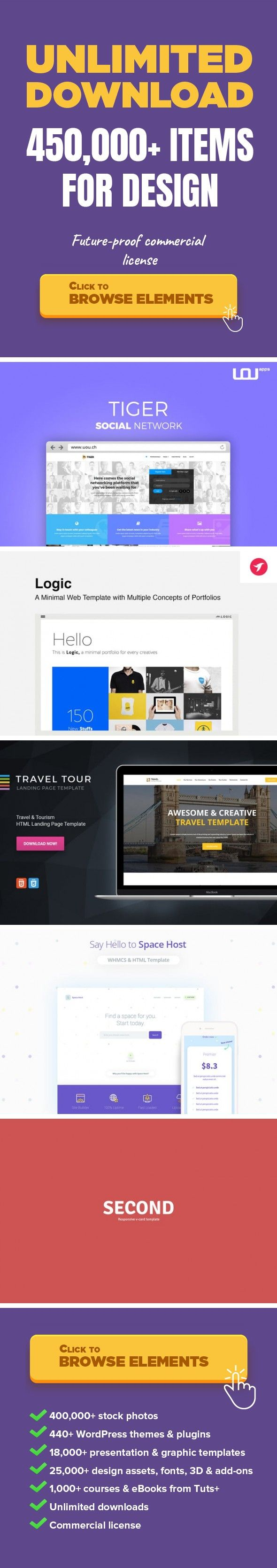 Tiger Corporate Social Network Template Web Templates Site