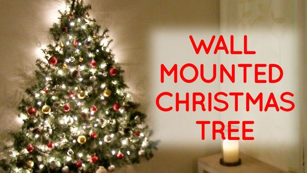 Wall Mounted Christmas Tree Wall Mounted Christmas Tree Wall Christmas Tree Flat Christmas Tree