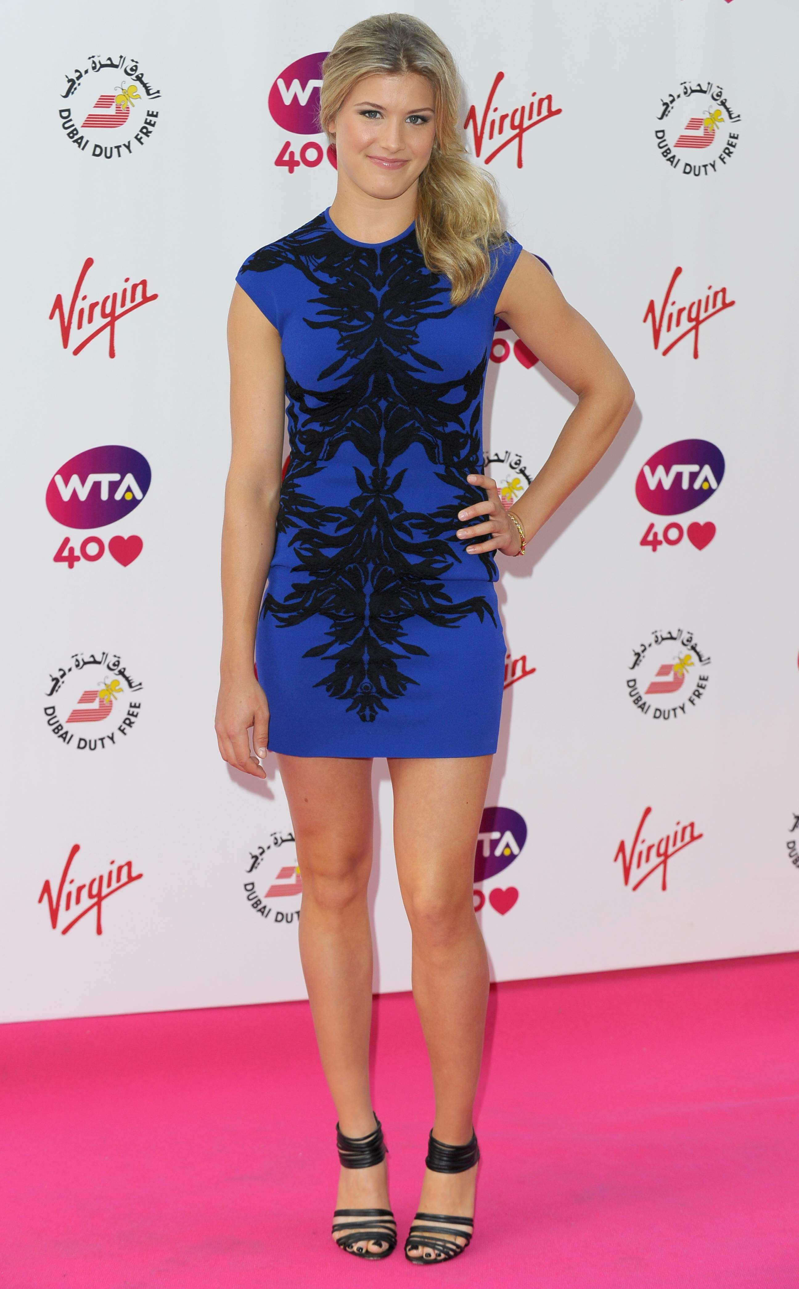 Eugenie Bouchard Pre Wimbledon Party Held At The Kensington Roof Gardens June 20 2013 Wta Wimbledon Party Eugenie Bouchard Hottest Models