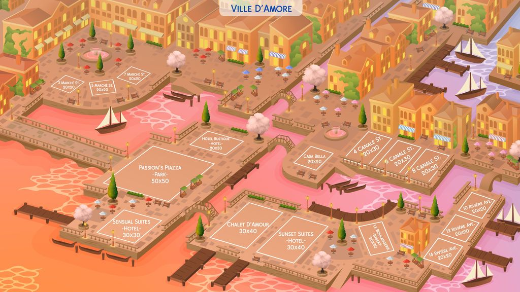 Ville D Amore Ts4 Community Worlds Project By Hazzaplumbob