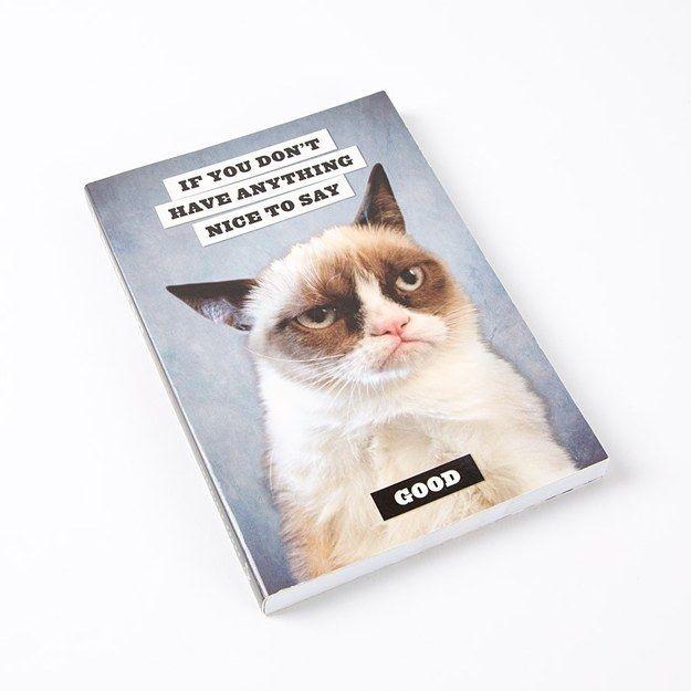 Este para escribir todas las cosas malas que tienes que decir. | 24 Cuadernos increíblemente grandiosos en los que querrás escribir