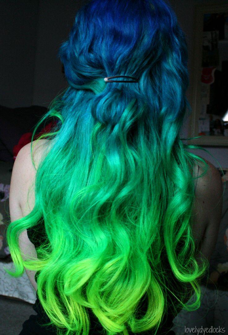 Mermaid hair google search dyed hair pinterest dye hair