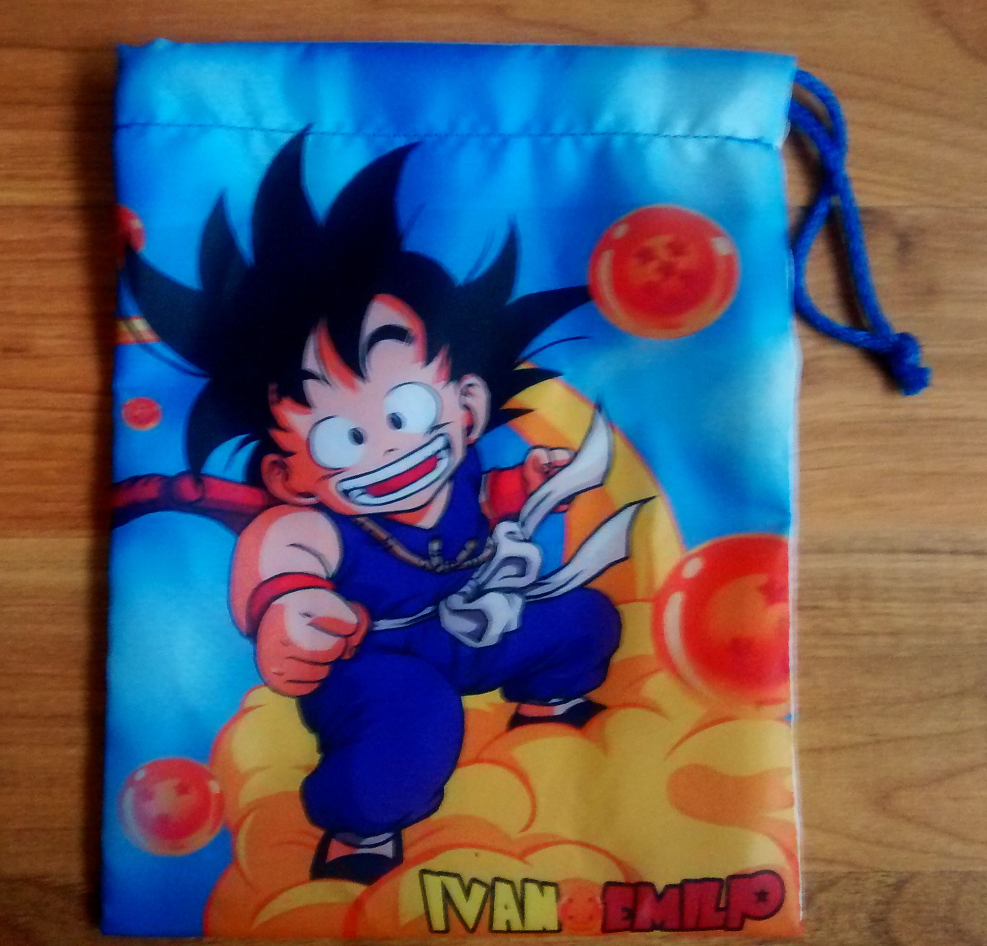 Bolsita Personalizada Para Dulces Dragon Ball Goku Nube 20 X 25 Cm Contacto Facebook Wambi Crafts Dragon Ball Z Dragon Ball Goku Dragon Ball