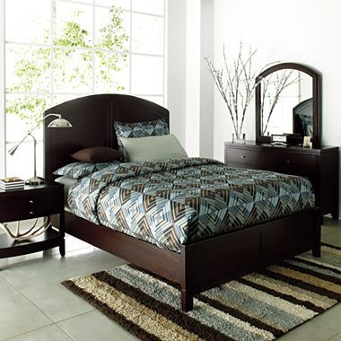 Good Hampton II Bedroom Set By Studio   Jcpenney