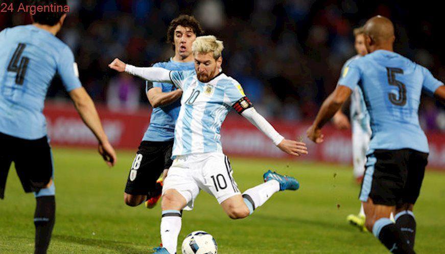 Lionel Messi está invicto como titular ante Uruguay y tiene de hijo a Luis Suárez