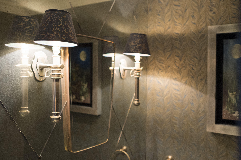 Lighting | Wall Lights | Traditional wall lights with dark shades ...