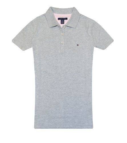 Tommy Hilfiger Women Classic Fit Logo Polo T-Shirt - List price: $65.00 Price: $27.99 Saving: $37.01 (57%)