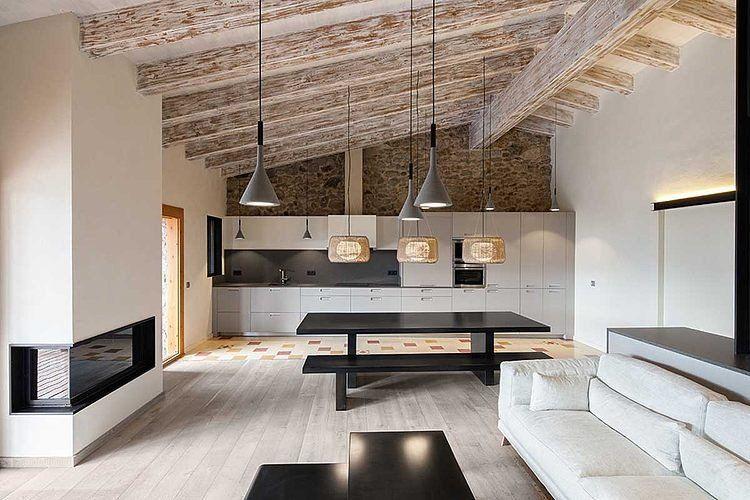Twitter zen inspired design Pinterest - dalle beton interieur maison