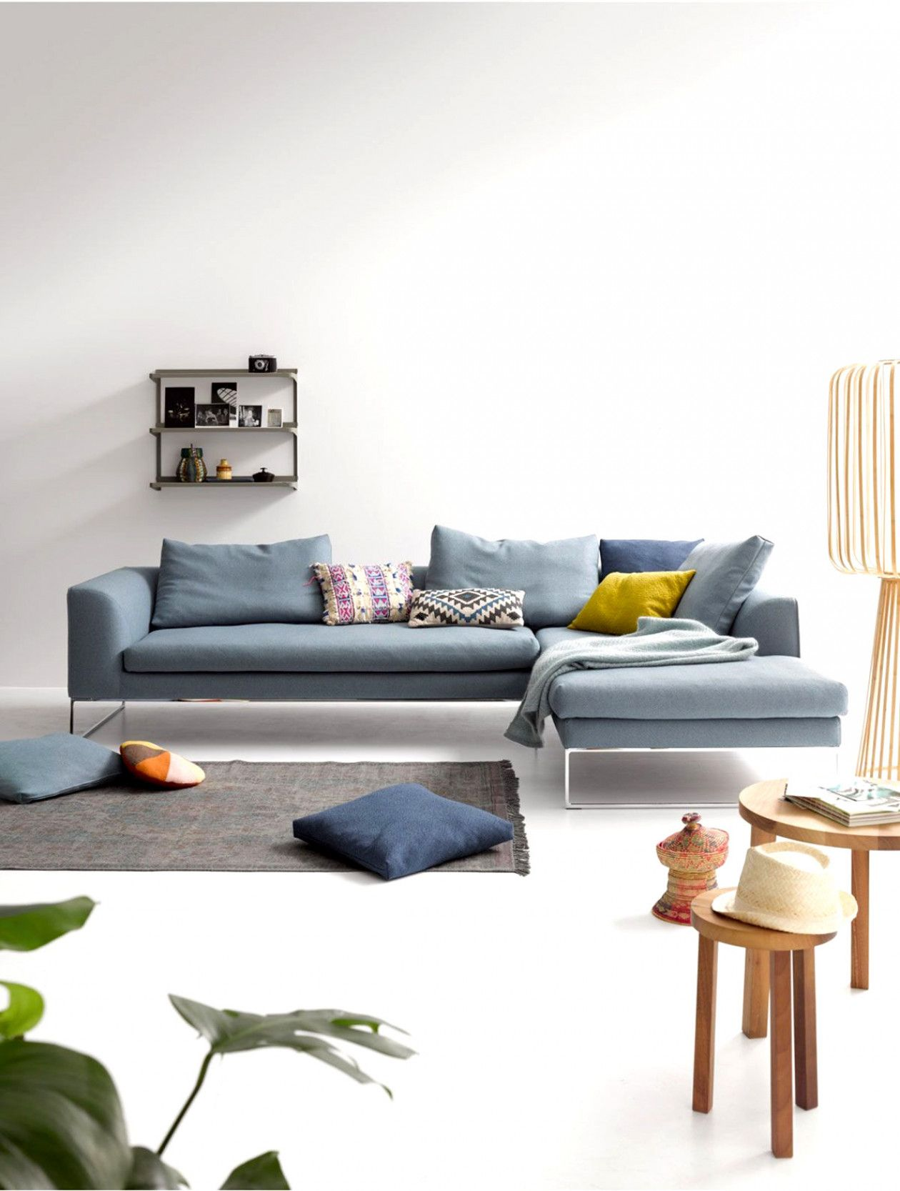 How To Put Wallpaper Lounge Sofa Living Room Furniture Cozy Room