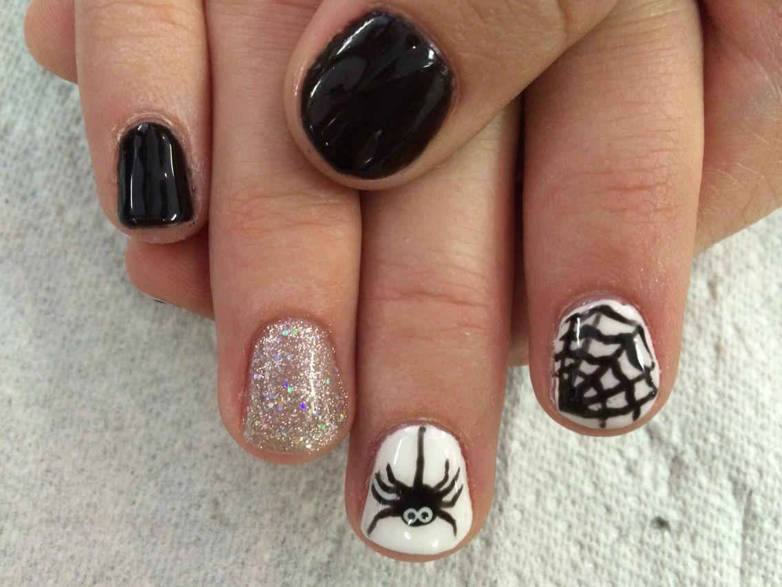 Halloween Shellac Nails Shellac Nail Colors Nails Shellac Nail Designs