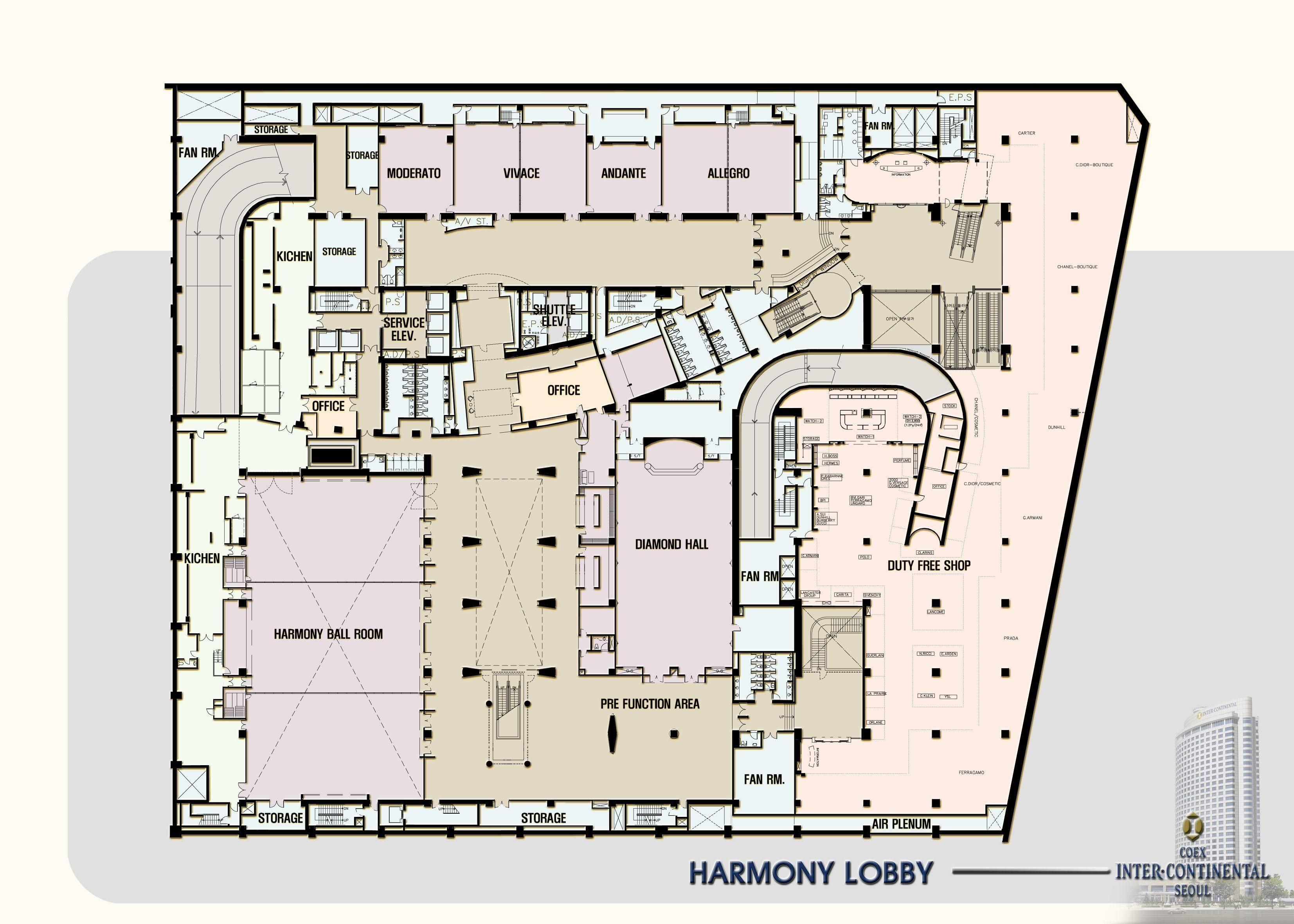 Hotel Lobby Floor Plan - Google Search