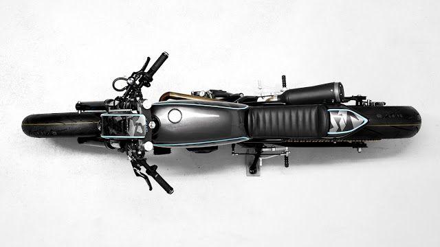 Suzuki DR 650 Cafe Racer DA#5 by Diamond Atelier #motorcycles #caferacer #motos | caferacerpasion.com