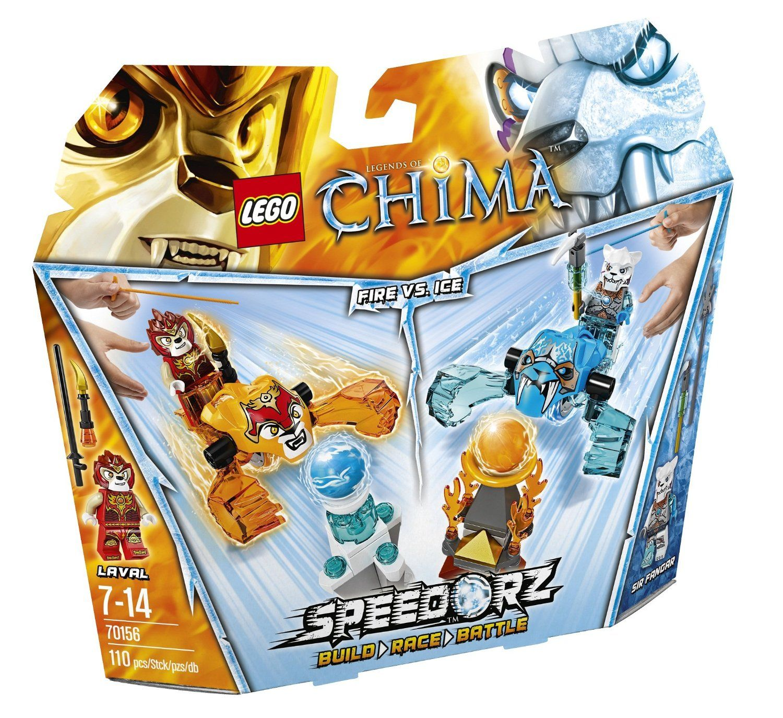 Amazon chima party supplies - Lego Legends Of Chima Speedorz 70156 Feuer Gegen Eis Amazon De Spielzeug