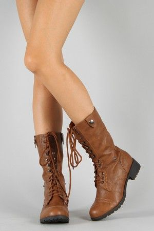 preview of get new cheapest price Soda Oralee-S Military Lace Up Boot, $35.90 +10 shipping (free ...