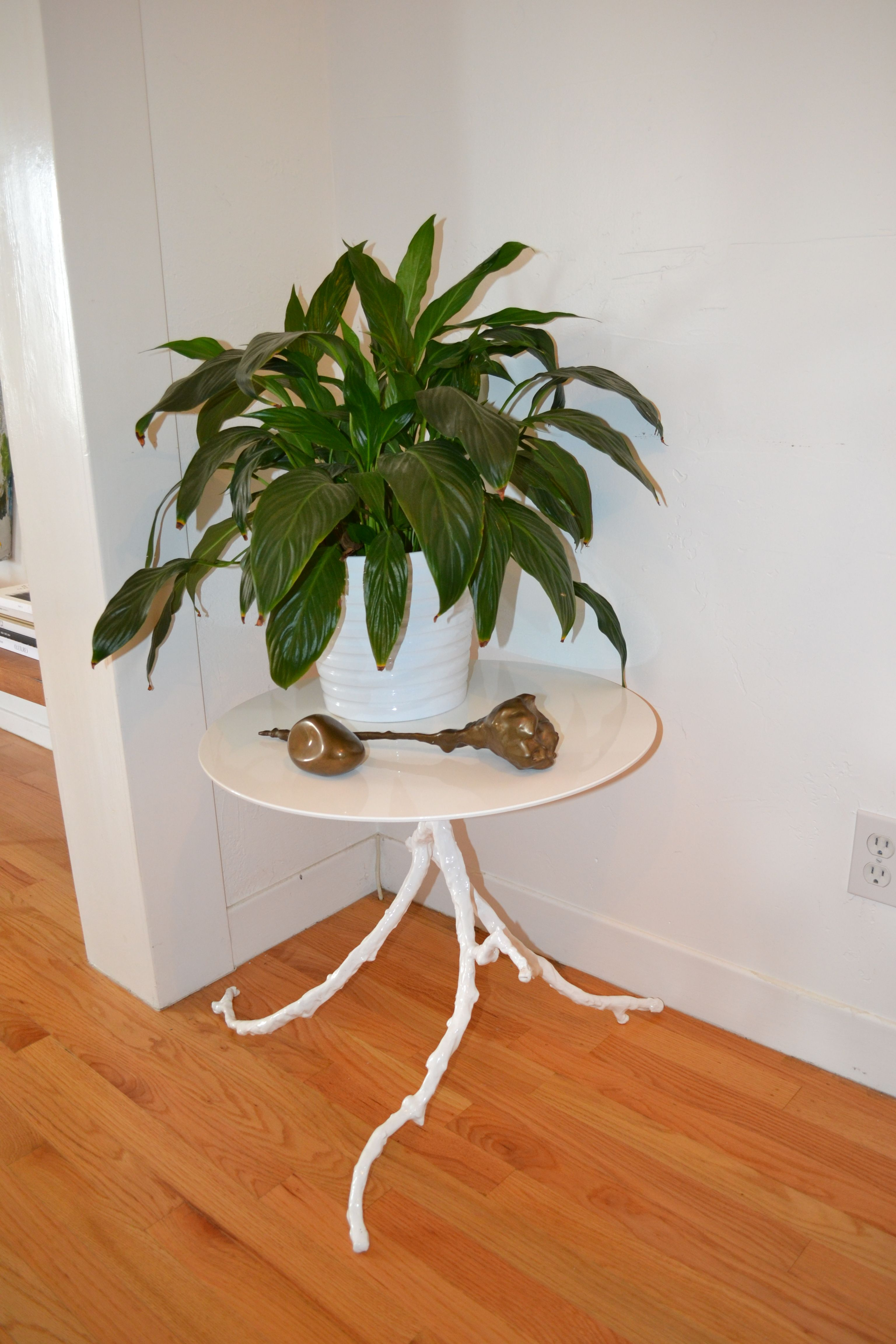 Limb Side Table By Rob Zinn For Blankblank Solid Cast