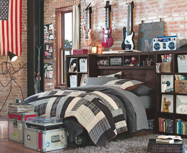 Pin de Christian Lomeli Oport en bedroom Pinterest Recamara - Decoracion De Recamaras Para Jovenes Hombres