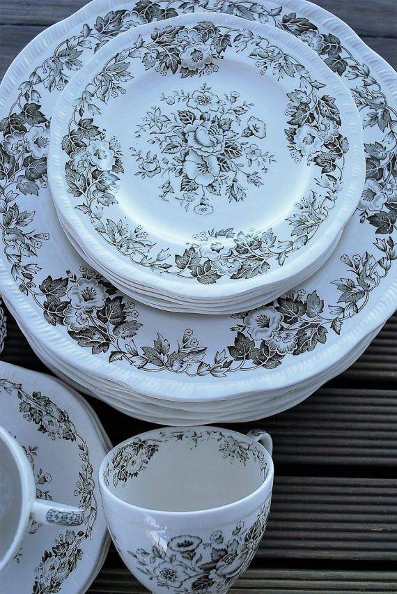 Alfred Meakin Dinnerware Patterns & The China Pattern Is