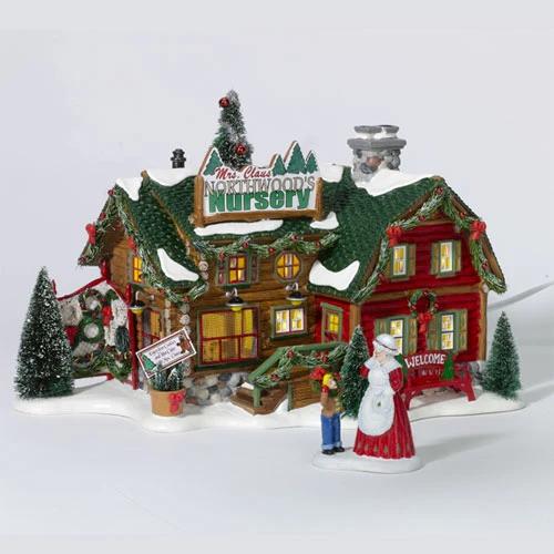 Multicolor 6.97 Department56 Original Snow Village B-Sweet Shop Lit Building and Accessories