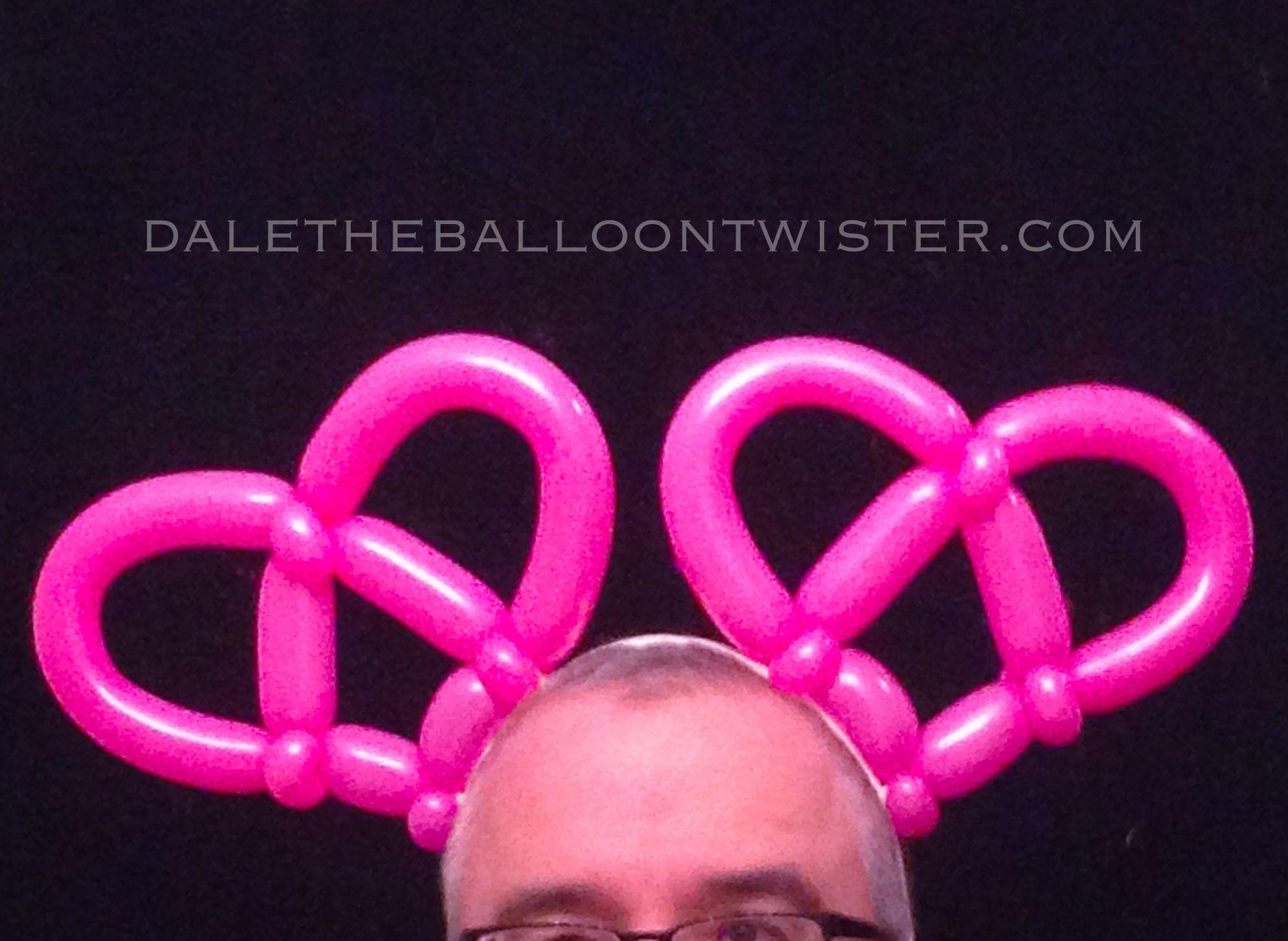 Pretzel Hearts - Valentines Day Mickey Ears. | Balloon Sculptures ...