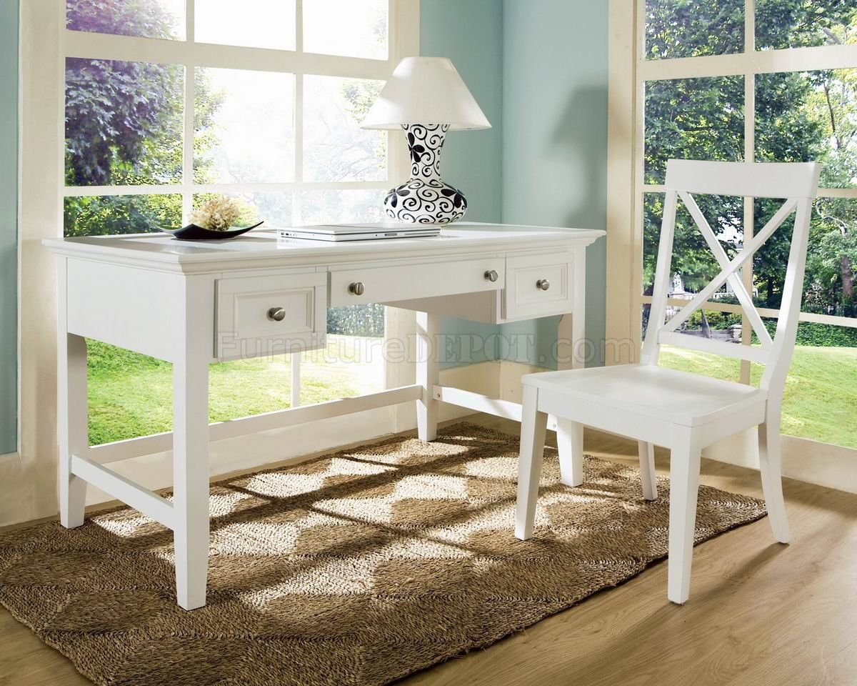 White Home Office Desks - Rustic Home Office Furniture Check more at ...
