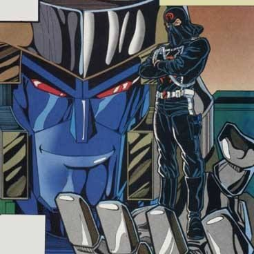 Megatron and Cobra Commander