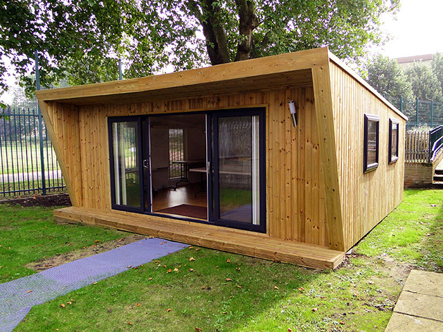 Another Green Retreat Modern Tiny House Building A