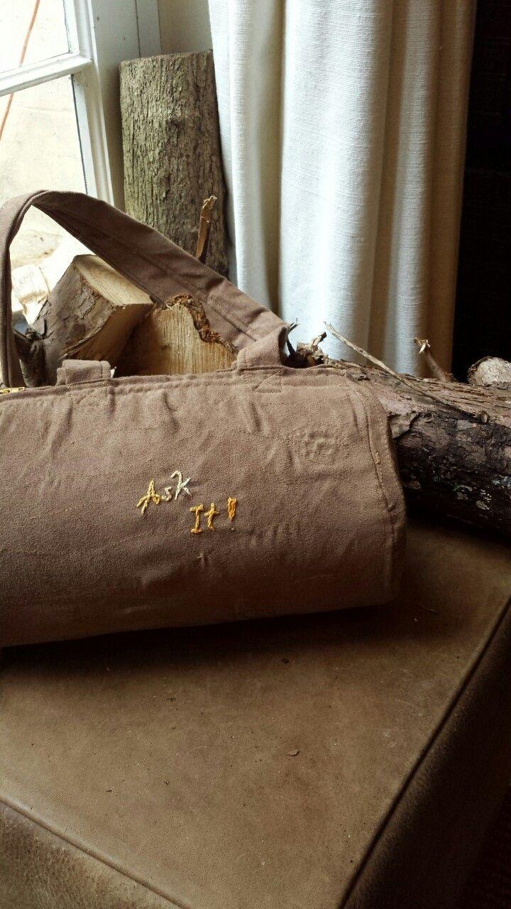 Ask it! #handmade #loglady #bag #twinpeaks #limitate #edition the Elisarium