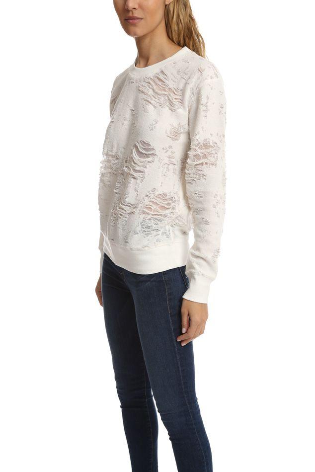 IRO Kismet Sweatshirt | Blue&Cream