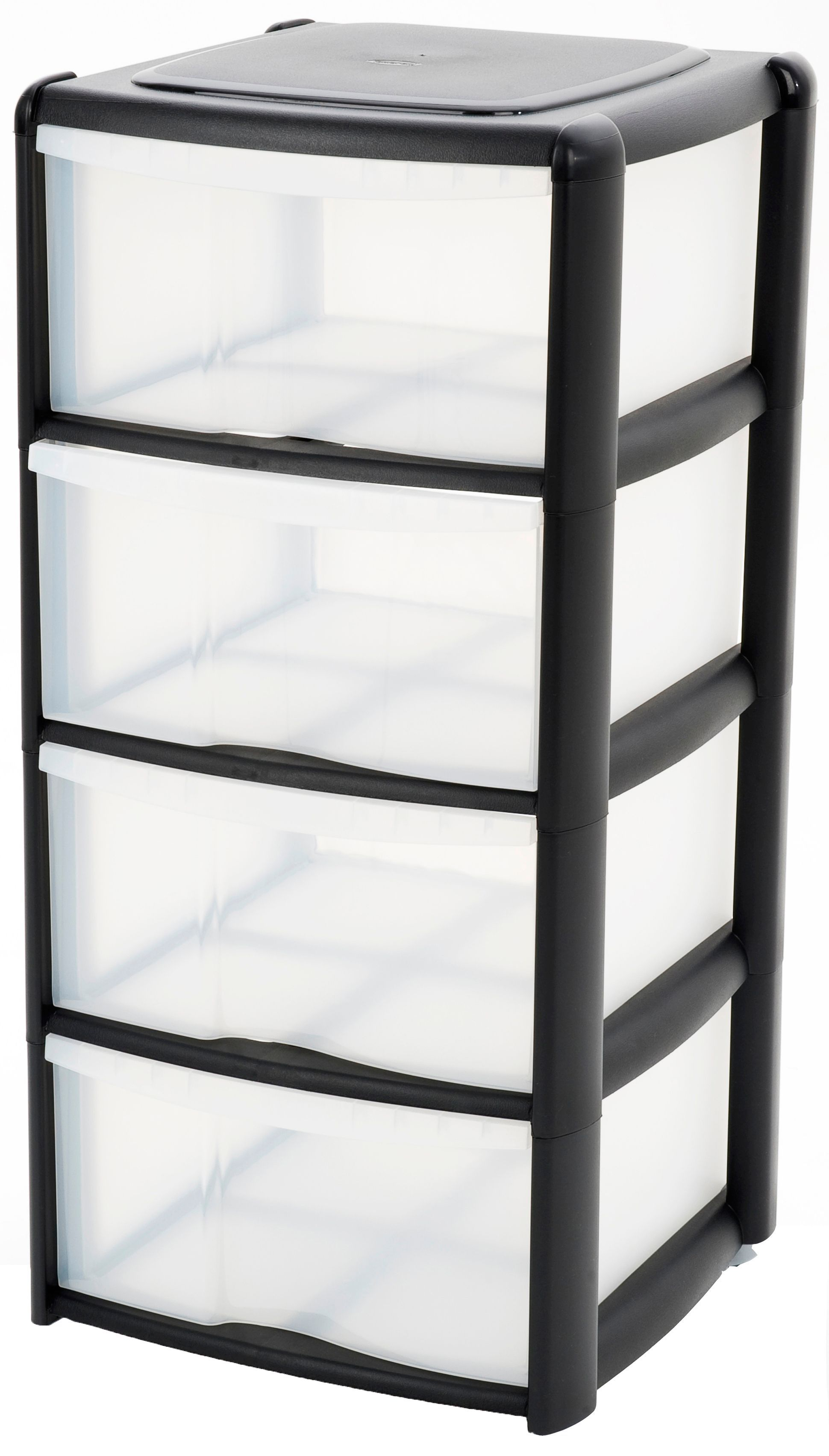 b clear drawers at prd departments really useful plastic diy q tower drawer bq