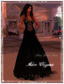 Fiona Dress Gown Promo